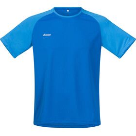 Bergans M's Slingsby Tee Athens Blue/Light Winter Sky/Alu